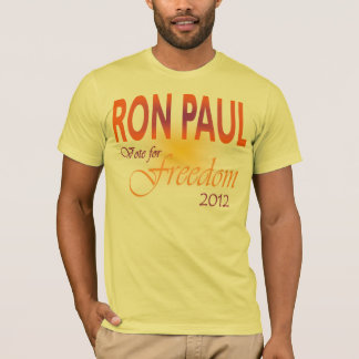 Ron Paul Vote for Freedom multi T-Shirt