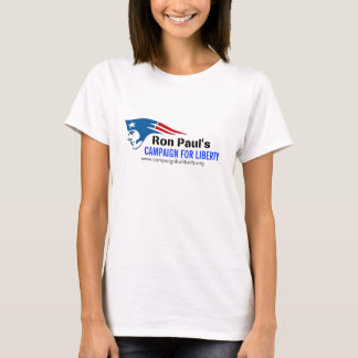 Ron Paul's Campaign for Liberty patriot revolution T-Shirt