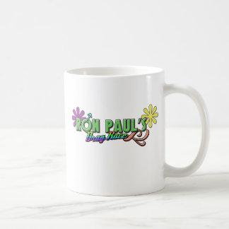 Ron Paul's Drag Race Basic White Mug