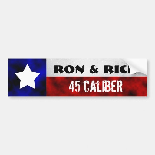 Ron & Rick Bumper Sticker