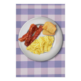 Ron Swanson s Breakfast Poster Of Greatness