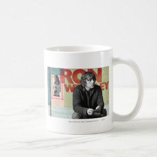 Ron Weasley 4 Basic White Mug