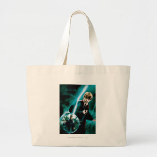 Ron Weasley and Lucius Malfoy Jumbo Tote Bag