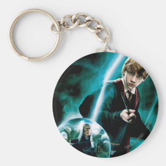 Ron Weasley and Lucius Malfoy Keychain