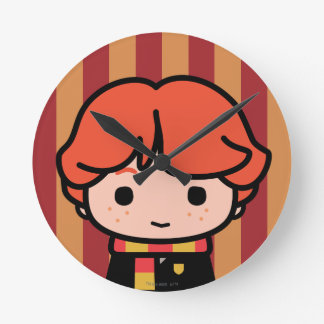 Ron Weasley Cartoon Character Art Clocks