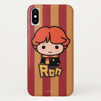 Ron Weasley Cartoon Character Art iPhone X Case