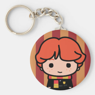 Ron Weasley Cartoon Character Art Key Ring