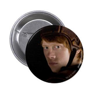 Ron Weasley Geared Up 6 Cm Round Badge