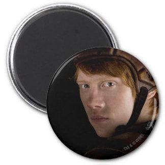 Ron Weasley Geared Up 6 Cm Round Magnet
