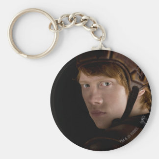 Ron Weasley Geared Up Basic Round Button Key Ring