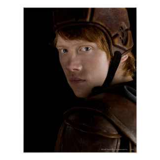 Ron Weasley Geared Up Print