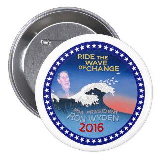 Ron Wyden for President 2016 7.5 Cm Round Badge