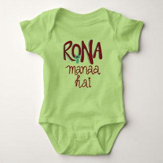 Rona Manaa Hai (Crying is not allowed) Baby Bodysuit