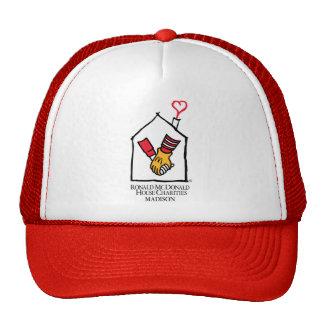 Ronald McDonald Hands Cap