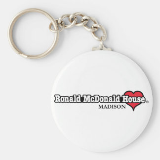 Ronald McDonald Heart Keychain