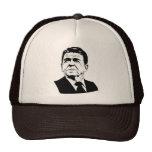 Ronald Reagan 1980 retro portrait Trucker Hat