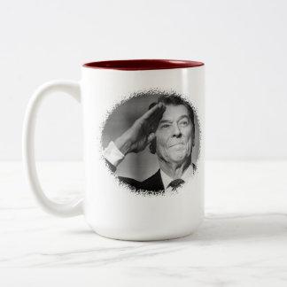 Ronald Reagan coffee quote mug