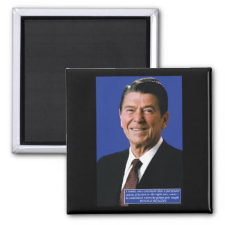 Ronald Reagan Leadership Quote Magnet