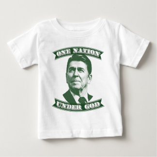 Ronald Reagan One Nation Under God Baby T-Shirt
