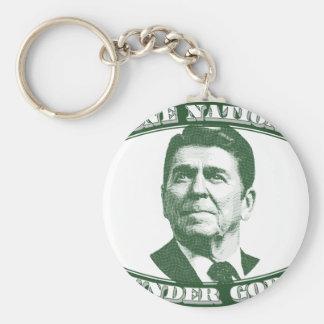 Ronald Reagan One Nation Under God Key Ring