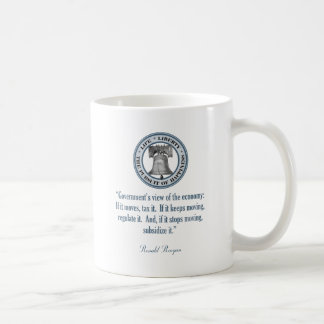 Ronald Reagan Quote (Government's View) Mug