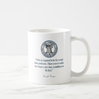 Ronald Reagan Quote (The Oldest Profession) Coffee Mugs