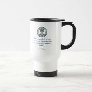 Ronald Reagan Quote (The Oldest Profession) Mugs