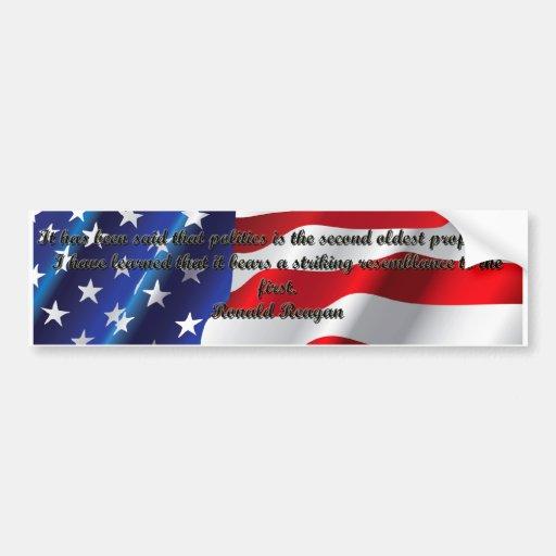 Ronald Reagan Quotes Bumper Stickers