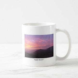 Ronda Sunset I Basic White Mug