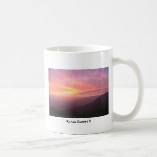 Ronda Sunset II Basic White Mug