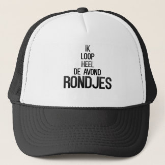 Rondjes run trucker hat