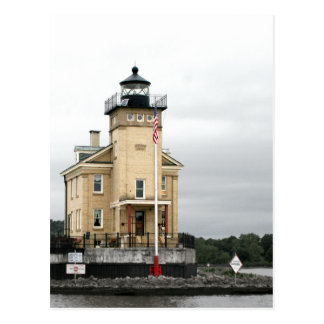 Rondout Lighthouse on the Hudson River Postcard