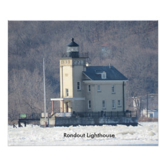 Rondout Lighthouse Photo Print