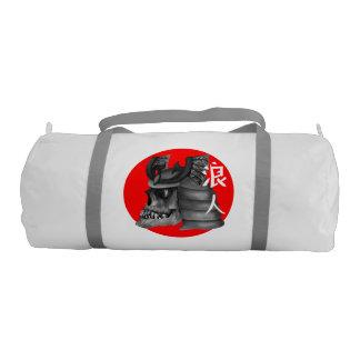 Ronin Samurai Armor Skull Gym Duffel Bag