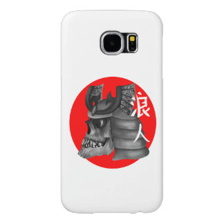 Ronin Samurai Armor Skull Samsung Galaxy S6 Cases