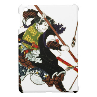 Ronin Samurai Deflecting Arrows Japanese Japan Art iPad Mini Case