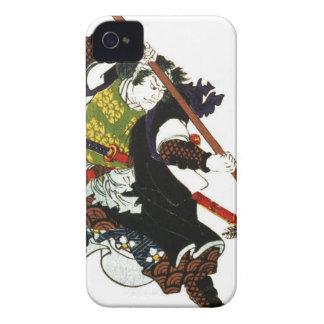 Ronin Samurai Deflecting Arrows Japanese Japan Art iPhone 4 Covers