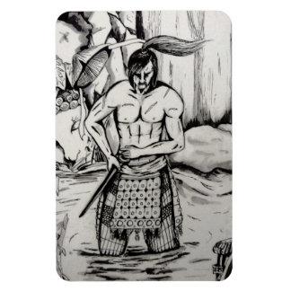 Ronin Samurai Rectangular Photo Magnet