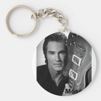 Ronn Moss Basic Round Button Key Ring