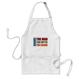 Ronnie the man, the myth, the legend standard apron