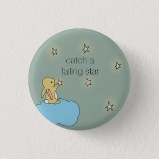 Roo Bunny - Falling Star 3 Cm Round Badge