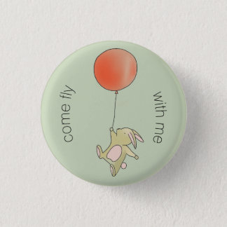Roo - Come Fly with Me 3 Cm Round Badge