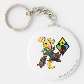 Roo Island Team Captain 1 Basic Round Button Key Ring