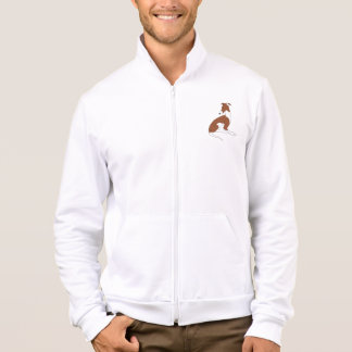 Roo Sitting (BROWN & WHITE) Jackets