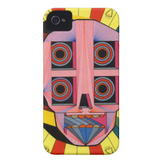 roobot skull Case-Mate iPhone 4 cases