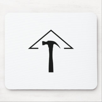 ROOF AND HAMMER MOUSE PAD