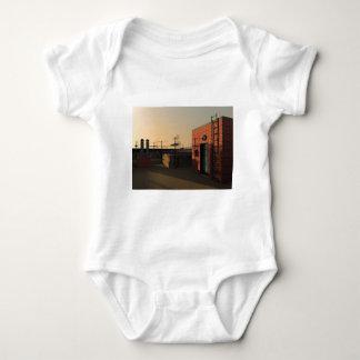 Roof in New York Baby Bodysuit