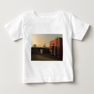 Roof in New York Baby T-Shirt