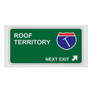 Roof Next Exit Poster