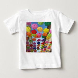 Roof of umbrellas baby T-Shirt